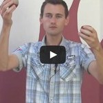 Żonglowanie! Uczę trudnego triku